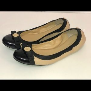 Michael Kors Leather Slide on moccasin flats 9M